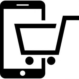 buying-by-phone--shopping-cart